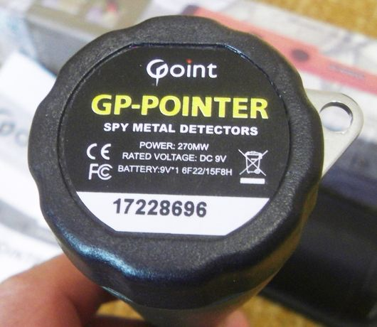Металлоискатель. GP- POINTER
