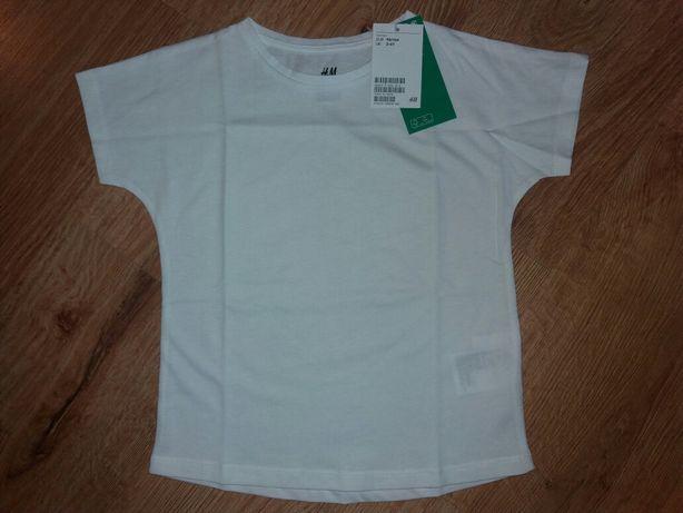 Koszulka t-shirt bluzeczka H&M nowa 98/104