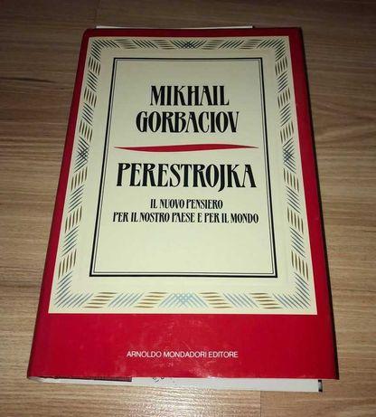 Perestrojka - Mikhail Gorbaciov  w języku włoskim