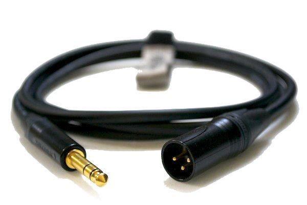 Pro Kabel do Monitorów Studyjnych 1/4 6,35mm St Jack do 3pin XLR Męski