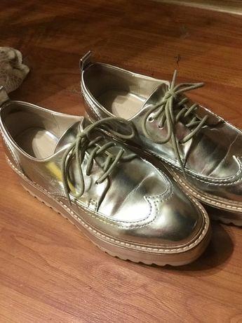 Ботинки туфли оксфорды 35 размер