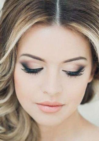 Свадебный, вечерний макияж