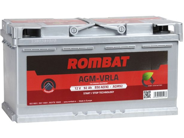 Akumulator ROMBAT AGM 92Ah/850A