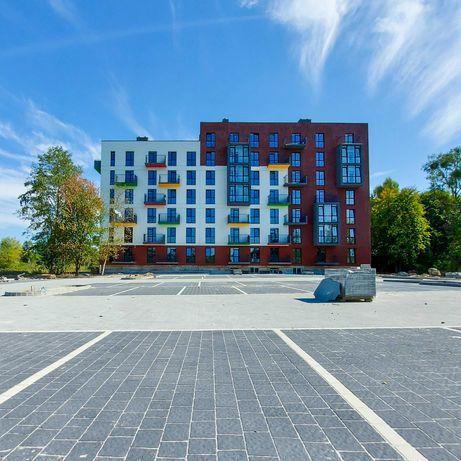 Продаж 1-кім квартири 37,42 кв.м (9 км від Львова) у зданій новобудові