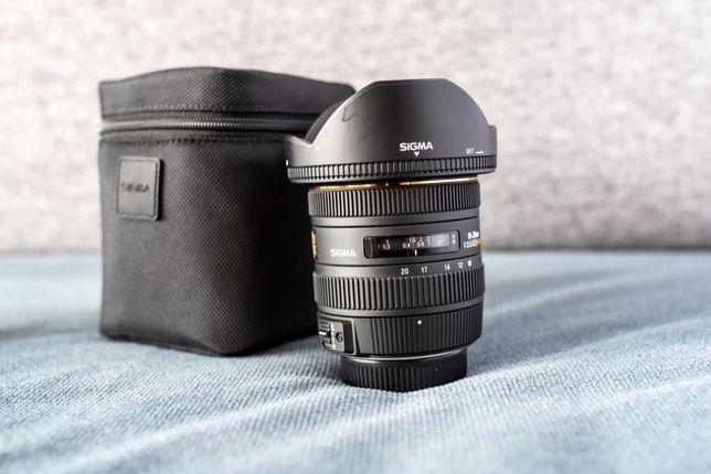 Sigma 10-20/3.5 bagnet Nikon F