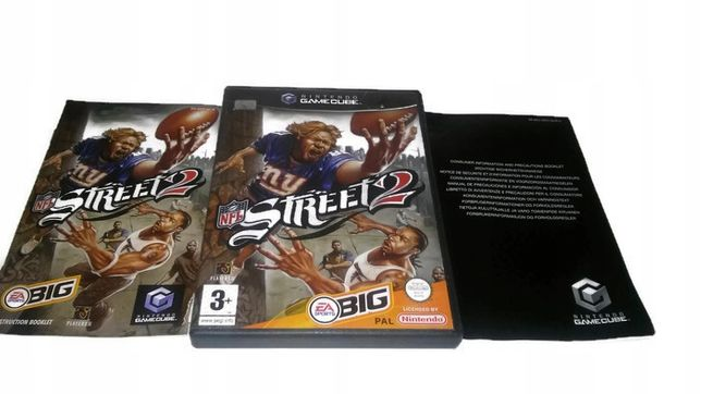 Nfl Street 2 Nintendo Gamecube ! Gwarancja !