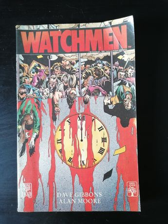 Watchmen Alan Moore, edição em português, raridade 1989