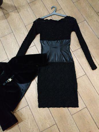 Платье можно с накидкой