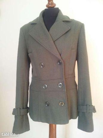 #Płaszczyk khaki modny #maffashion