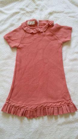 Vestido Zippy bebé menina. 6-9 meses