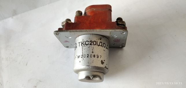 Продам Контактор ТКC-201-ДОД  200А 1-полюсный включающий б/у