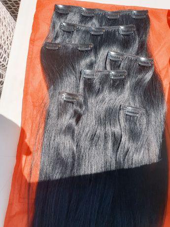 Волосся тресы треси натуральные волосы тресси для наращивания нарощенн