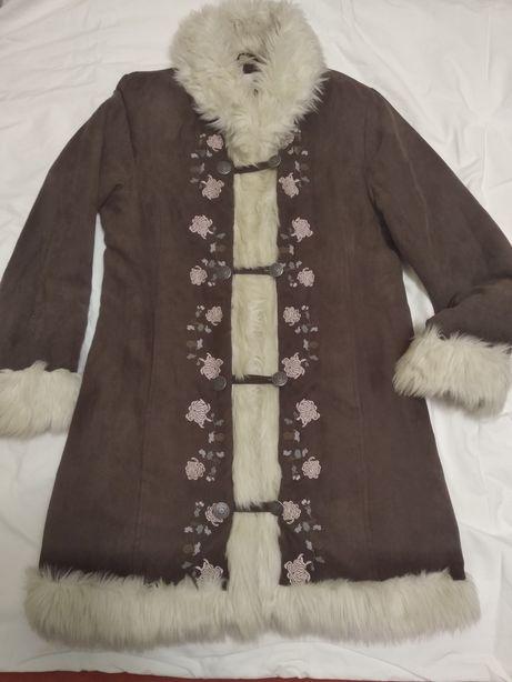 Пальто от H&M утепленое