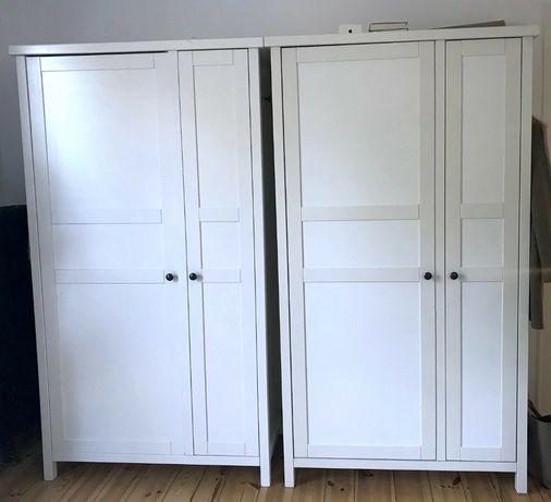 Szafa Ikea Hemnes 100x190 cm biała