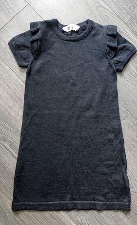 Sukienka wełniana, na Święta, h&m, r. 116