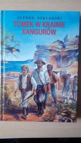"""Książka """" Tomek w krainie kangurów """""""