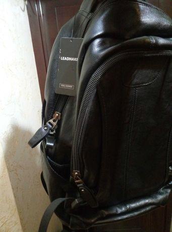 Шкіряний рюкзак Leadhake.