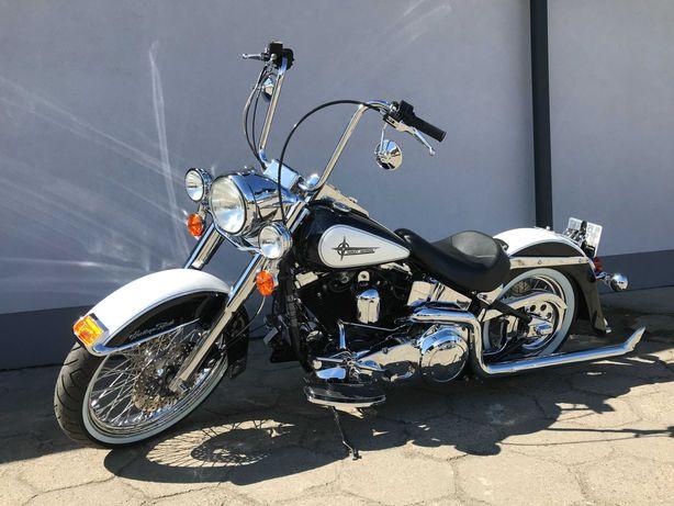 Harley Davidson FLSTC Heritage Softail EVO Chicano Style IDEALNY