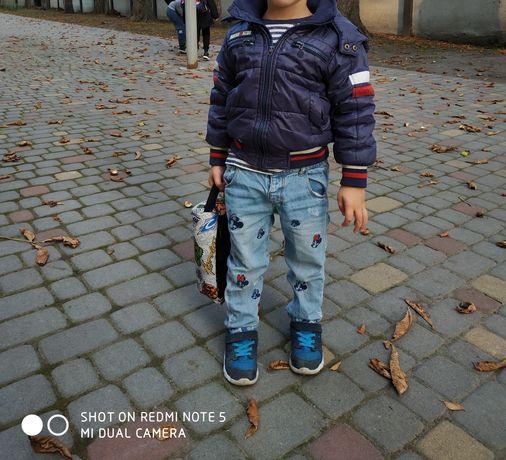 2-3 года Куртка деми+джинси Zara