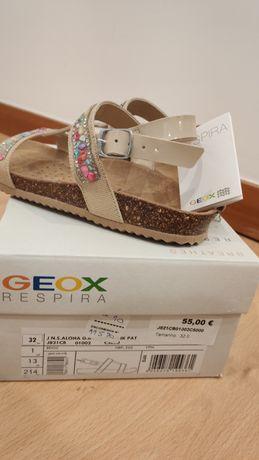 Sandálias Geox novas