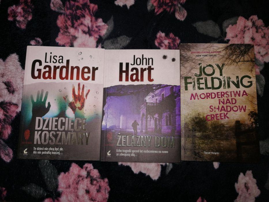 Komplet 3 książek kryminały gardner hart Fielding Bielsko-Biała - image 1