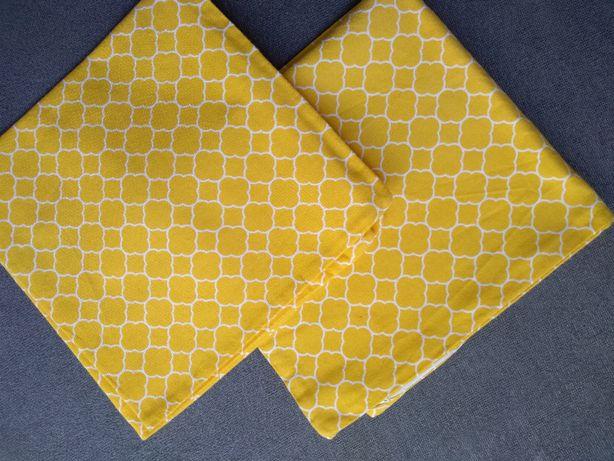Poszewki dekoracyjne żółta koniczyna marokańska 2 sztuki