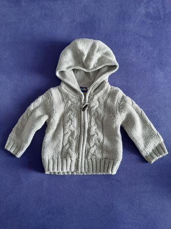 Sweterek rozpinany rozm. 62-68