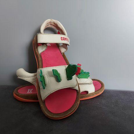 Skórzane sandałki Camper Twins