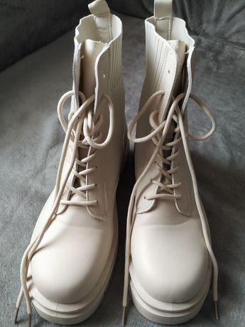 Botas cremes n°41
