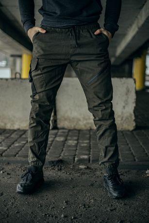 Карго мужские Штаны  Спортивные тактические брюки джоггеры котонн