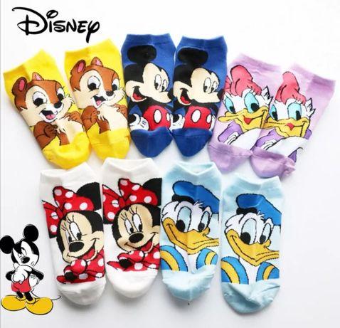 Skarpetki Disney Myszka Miki Minnie Stopki