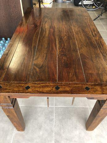 Stół drewniany lite drewno