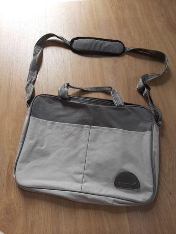 Szara torba na laptopa europhone