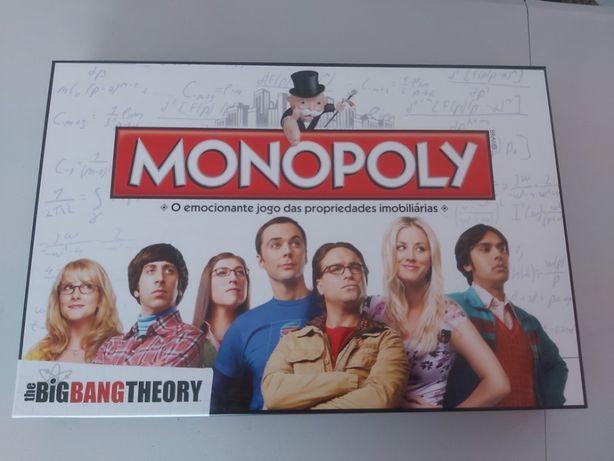 Monopólio Teoria do Big Bang jogado apenas uma vez como NOVO