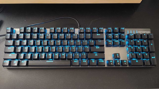 Motospeed Inflictor CK104 teclado mecanico RGB