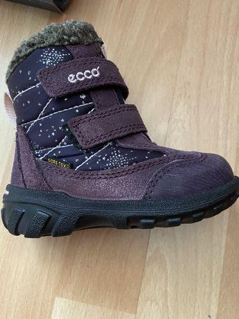 Сапоги Ecco ботинки зима детские сапожки ecco 22р
