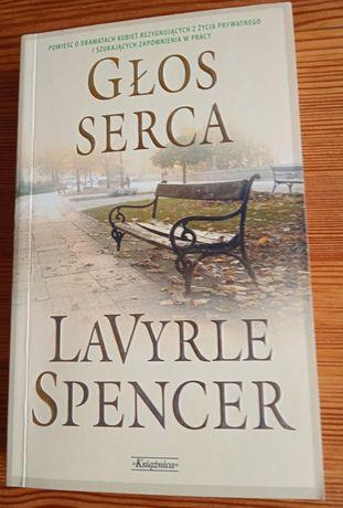 Książka LaVyrle Spencer - Głos serca + 1 inna książka