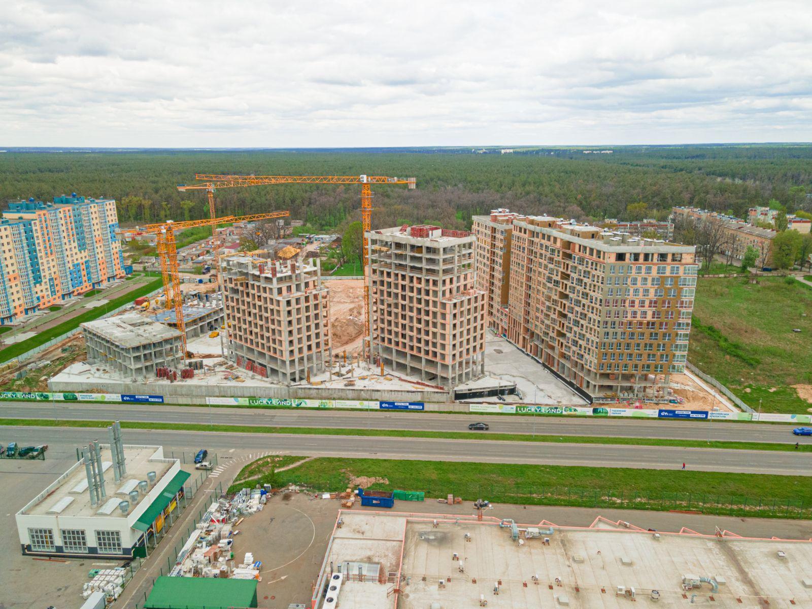 Просторная однокомнатная квартира 36м2 в ЖК Lucky Land от DIM
