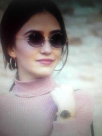 женские безободковые солнцезащитные очки .разные