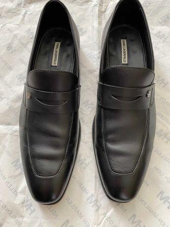 Кожаные лоферы Karl Lagerfeld  Brunello CUCINELLI  Louis Vuitton gucci