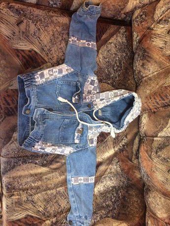 продам джинсовую курточку для малыша