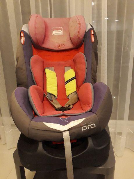 Fotelik samochodowy Espiro Optima Pro + podstawka z oparciem