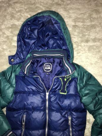 Smyk ciepla kurtka 104 cm zima 3-4 l