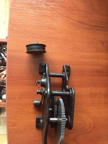 Edison fonograf, mechanizm, części