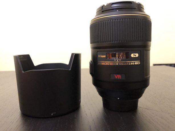 Lente Nikon Micro Nikkor 105mm f2.8 G ED