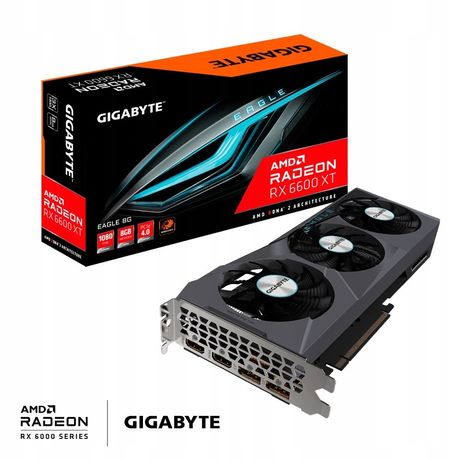Karta graficzna Gigabyte Radeon RX 6600 XT 8GB Eagle