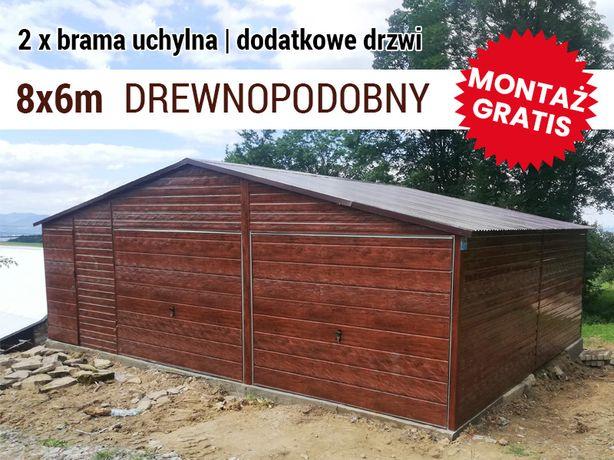 Garaż blaszany - Garaze Pajak - drewnopodonby ,8x5,5m , wiaty ,hale,