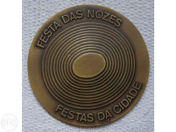 Medalha EM Bronze Antiga séc.XX