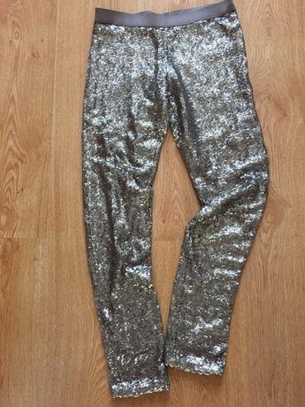 Spodnie z cekinami Zara 164