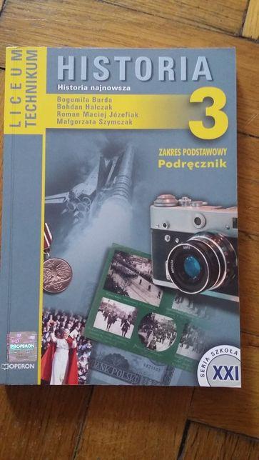 Historia 3 Historia najnowsza. Podręcznik liceum